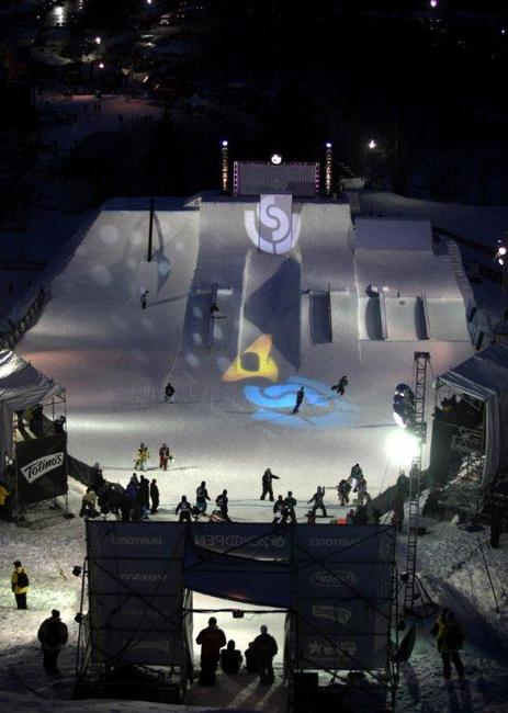 2010 USOPEN BLACK AND NIGHT RAIL JAM