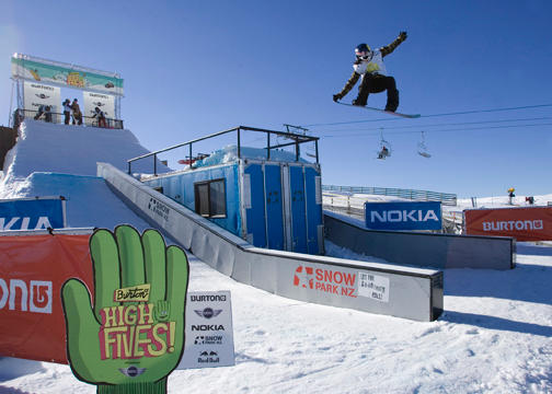 Burton High Five's Slopestyle Winner Enni Rukajarvi's