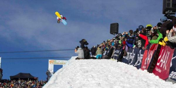 Peetu and Kelly Clark win halfpipe at BEO11