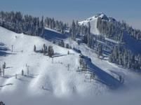 Ski Resort Sugar Bowl in USA