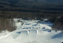 Ski Resort Waterville Valley in USA