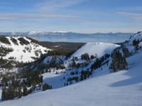 Ski Resort Alpine Meadows in USA
