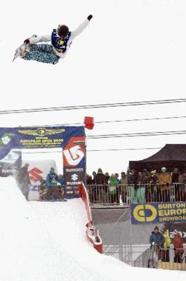 Clark & Malin Qualify First in BEO Halfpipe Semis