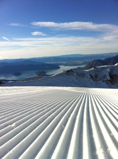 Treble Cone Snow Coverage 2012
