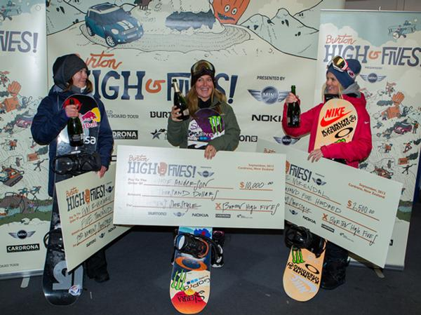 Burton High Fives Women's Slopestyle