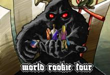 World Rookie Tour 2014, the yeti is moving on!