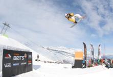 Big Air at the Brits in Laax