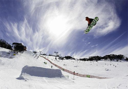 Australian Open Slopestyle 2007 runner up Jenny Jones