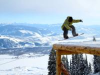 Ski Resort Jackson Hole in USA