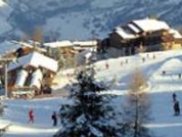 Ski Resort Montchavin in France