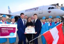 Eurowings adds Manchester and Birmingham Flights