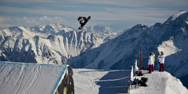 BURTON OPEN SLOPESTYLE SEMI FINAL RESULTS 2012