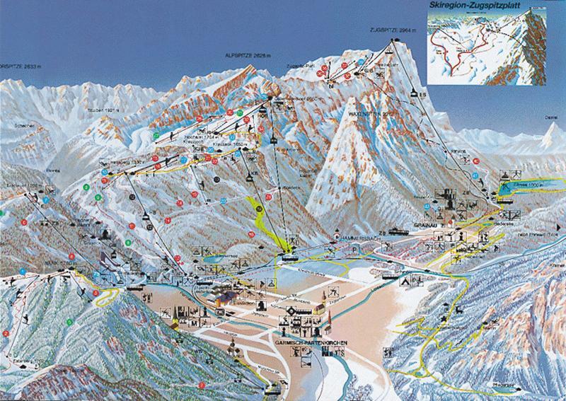 Garmisch Map