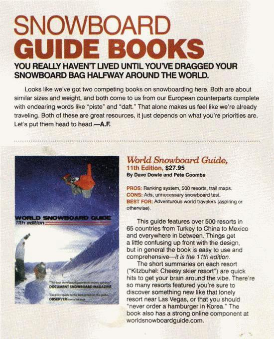 WSG 11th edition Transworld Review