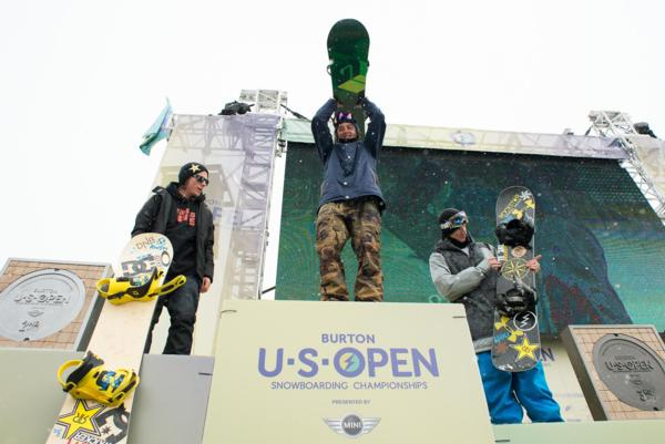 Men's US Open Slopestyle Podim