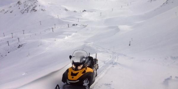 Fresh snow at Mt Hutt for the start of the season