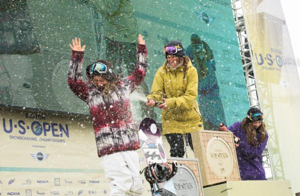 Women's US Open Podium
