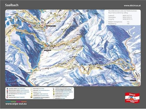 Saalbach 2010/11 Wipeout Map