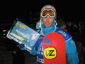 Dan Wakeham 2nd in Airwaves 2008 in Tignes