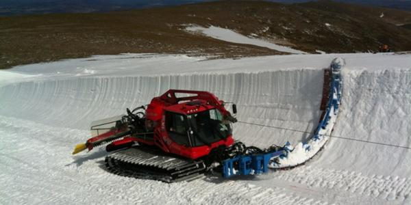 CairnGorm Mountain Bags the UK's First Halfpipe