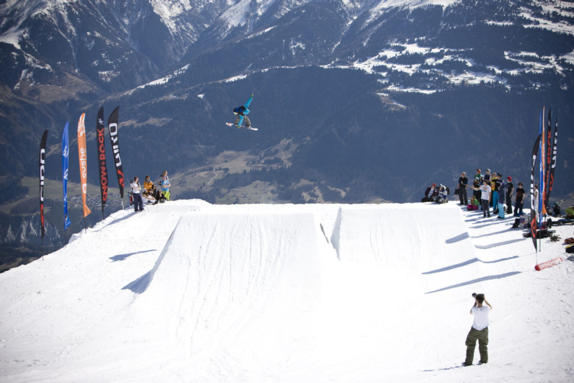Brits 2011 mens Big Air, rider: Sam Turnbull