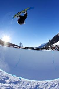 Womens Halfpipe finalists decided at Evolution