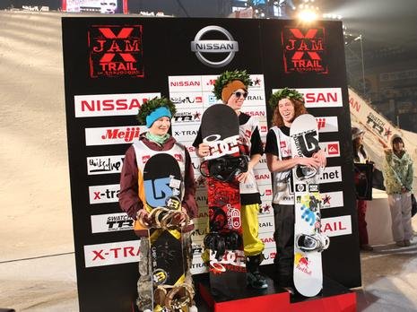 X-Trail 08 in Japan, Podium