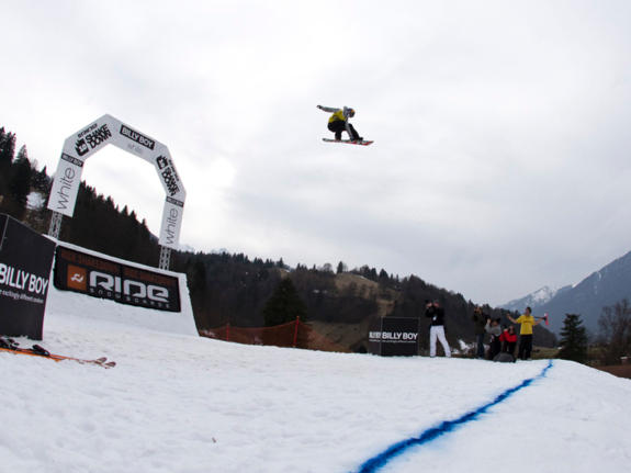 Ride Shakedown 2011 from Garmisch winner Jamie Nicholls