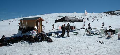 Chilling on a Deux Alps Summer Camp