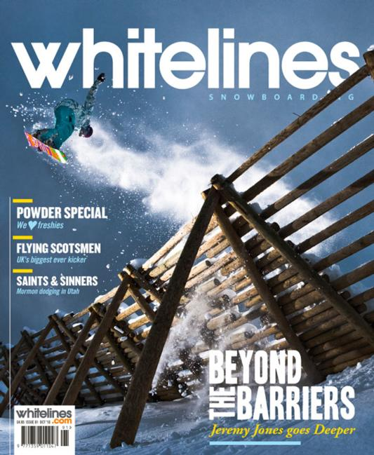Whitelines issue 91 cover
