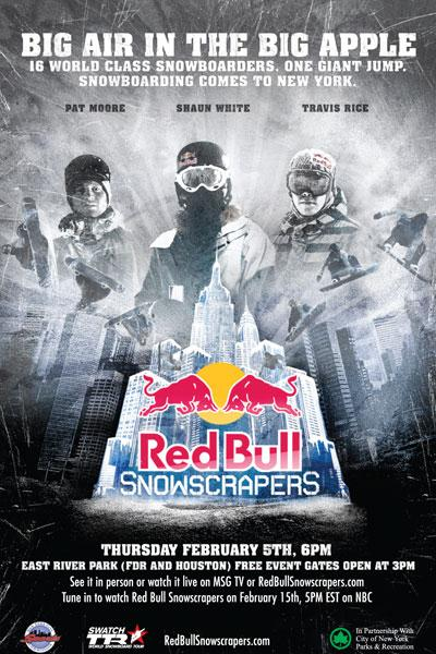 Red Bull Snowscrapers flyer