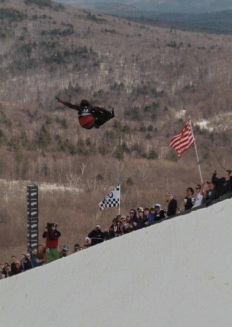 Kelly Clark wins the 2010 womens US Open halfpipe