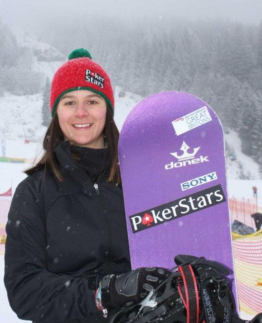 Zoe Gillings, 6th place in Bad Gastein