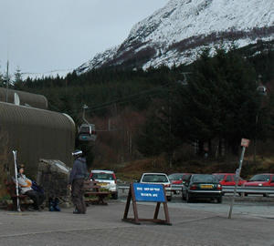 Gondola incident at Nevis, Scotland