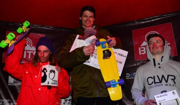 Bangers and Cash Men's Podium 2013