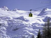 Ski Resort La Thuile in Italy
