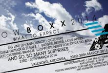 Snowboxx returns in 2014!