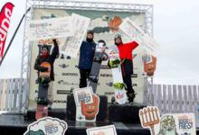 HIRAOKA AND KELLY CLARK WIN HIGH FIVE HALFPIPE!