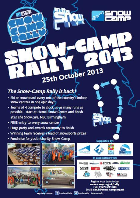Snow Camp Rally 2013