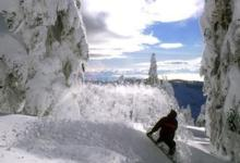 Ski Resort Cypress Mountain in Canada