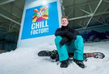 OLYMPIAN BEN KILNER HITS CHILL FACTORE