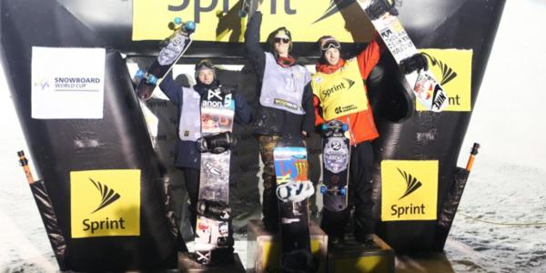 Kelly Clark and Taylor Gold 1st in halfpipe!