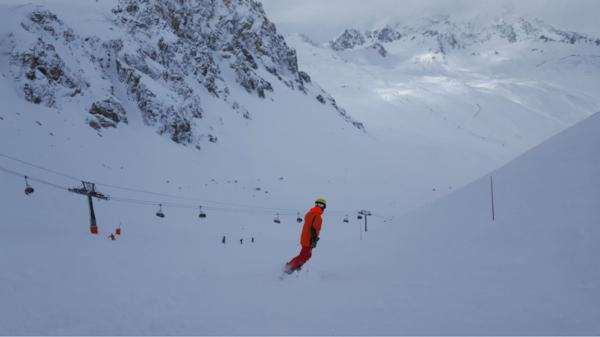 Pete Coombs Tignes