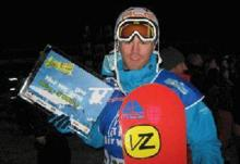 Dan Wakeham Finishes 2nd in Airwaves in Tignes