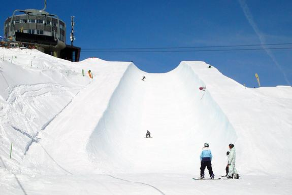 Superpipe at the Crap Sogn Gion