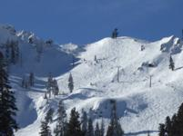 Ski Resort Squaw Valley in USA
