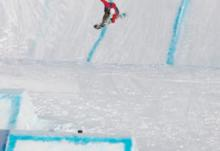 Jenny Jones gets top in the BEO Slopestyle Semis