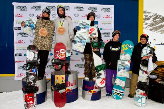 Mens Pleasure Jam Podium 2012