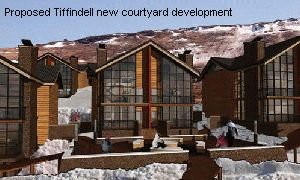 Proposed Tiffindell new courtyard development