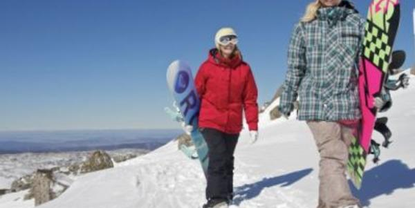 Women-Only Snowboard Retreats from Ticket to Ride